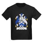 Glascott Family Crest Kids Dark T-Shirt