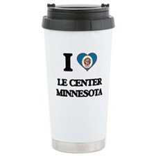 I love Le Center Minnes Travel Mug