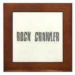 Rock Crawler Gift Ideas Framed Tile
