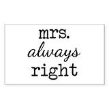 Mr right Stickers