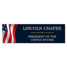 Lincoln Chafee for President V3 Bumper Sticker