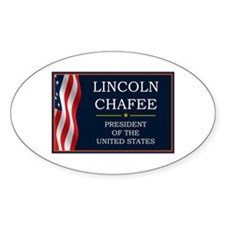 Lincoln Chafee for President V3 Decal