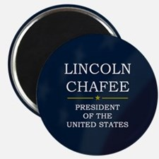 Lincoln Chafee for President V3 Magnet
