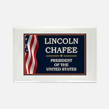 Lincoln Chafee for President V3 Rectangle Magnet