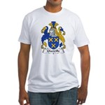 Glanville Family Crest Fitted T-Shirt