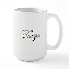 Gold Tanya Mugs