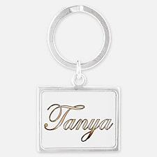 Gold Tanya Keychains