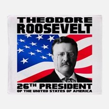 26 Roosevelt Throw Blanket