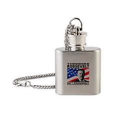 26 Roosevelt Flask Necklace