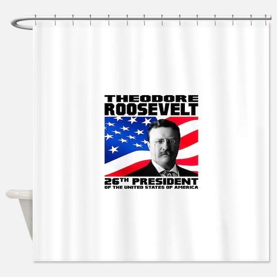 26 Roosevelt Shower Curtain