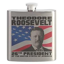 26 Roosevelt Flask