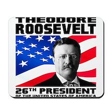 26 Roosevelt Mousepad