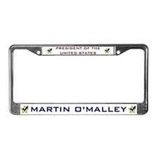 Martin O'Malley for President License Plate Frame