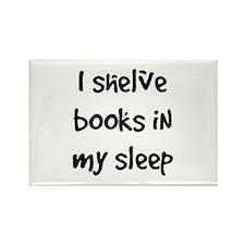 shelve books Rectangle Magnet (10 pack)