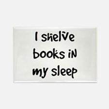 Shelve Books Rectangle Magnet (10 Pack) Magnets