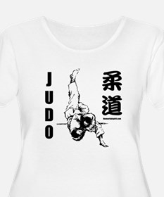 Judo Plus Size T-Shirt