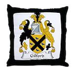 Gilford Family Crest Throw Pillow