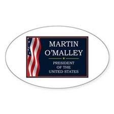 Martin O'Malley for President V3 Decal