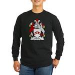 Gilbert Family Crest Long Sleeve Dark T-Shirt