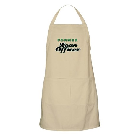 Former Loan Officer BBQ Apron