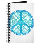 funky peace sign Journal