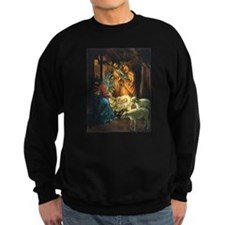 Vintage Christmas Nativity Sweatshirt