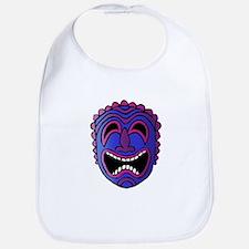 Laughing Tiki Head Bib