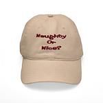 Naughty or Nice Cap