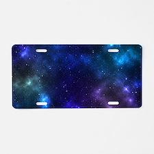 Galaxy Aluminum License Plate