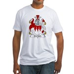 Gernon Family Crest Fitted T-Shirt