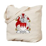 Gernon Family Crest Tote Bag