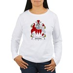 Gernon Family Crest Women's Long Sleeve T-Shirt