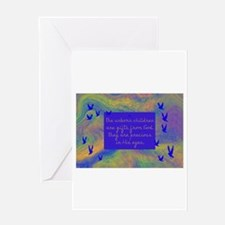 Funny Bible children book kids Greeting Card