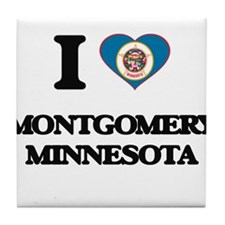 I love Montgomery Minnesota Tile Coaster