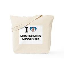 I love Montgomery Minnesota Tote Bag