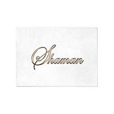 Gold Shaman 5'x7'Area Rug