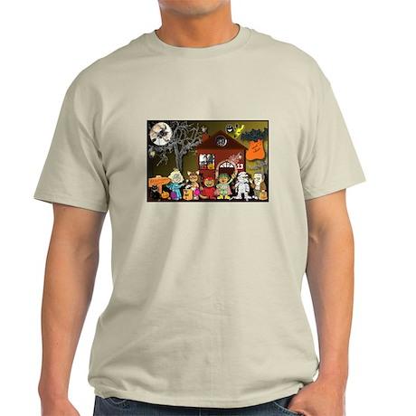 Halloween Town - It's Party T Light T-Shirt