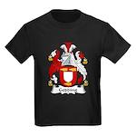 Gedding Family Crest Kids Dark T-Shirt
