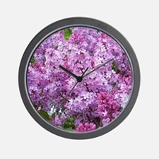 Unique Spring flower Wall Clock