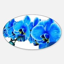 Ice blue orchids Decal