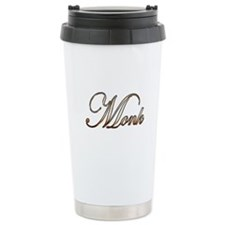 Gold Monk Travel Mug