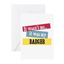 Badger Greeting Cards (Pk of 10)