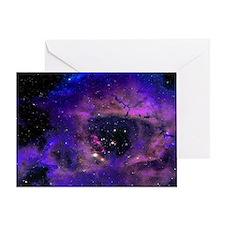 Rossette Nebula Greeting Card