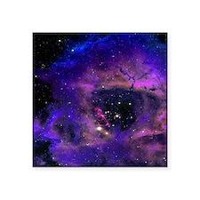 "Rossette Nebula Square Sticker 3"" x 3"""