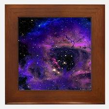 Rossette Nebula Framed Tile