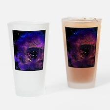 Rossette Nebula Drinking Glass