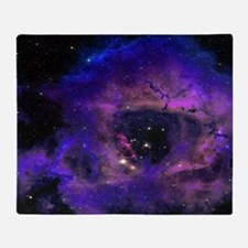 Rossette Nebula Throw Blanket