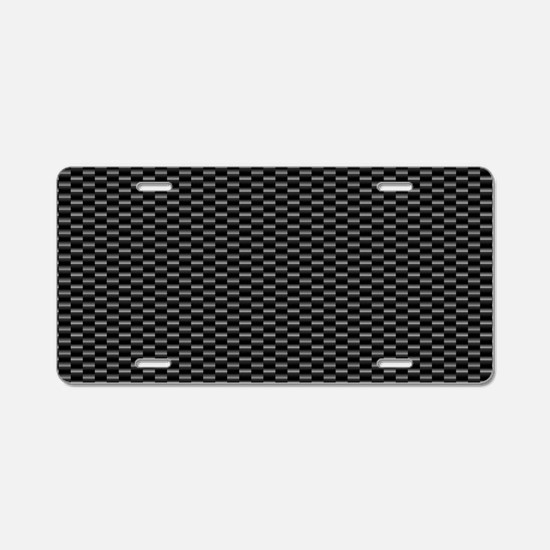 CARBON Aluminum License Plate