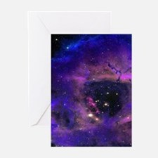 Rossette Nebula Greeting Cards