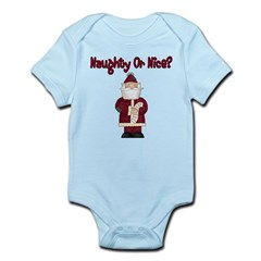 Naughty or Nice Infant Bodysuit